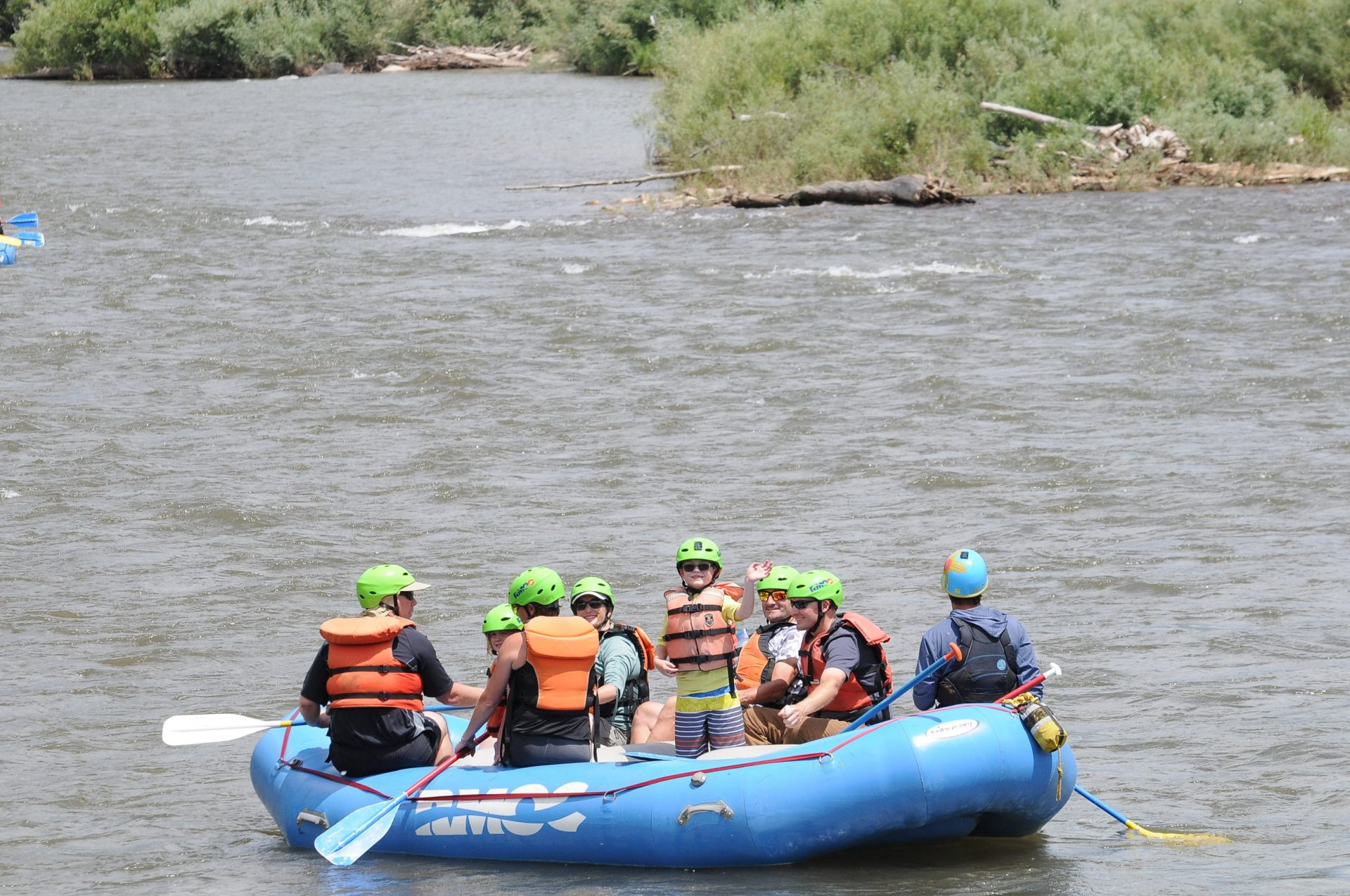 salida whitewater rafting